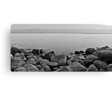 Rocks on the Shore Canvas Print