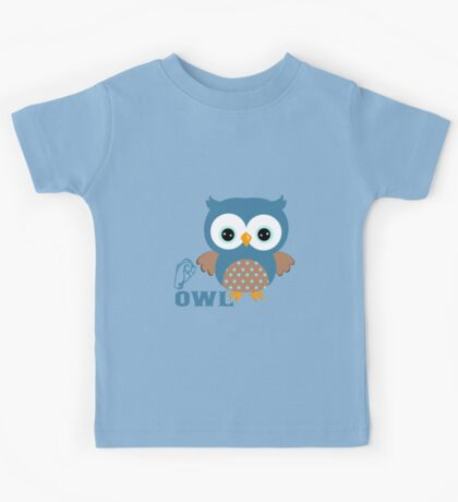 O is for Owl - ASL Kids Tee