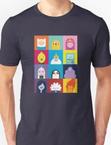 Adventure Characters Unisex T-Shirt