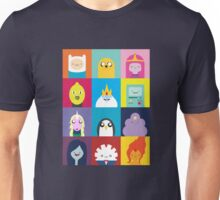 Adventure Characters Unisex T-Shirt