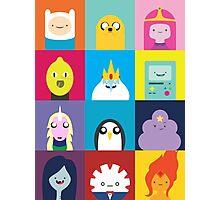 Adventure Characters Photographic Print