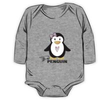 P is for Penguin -  ASL One Piece - Long Sleeve