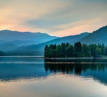Sunset Over Lake Shasta (Limited Edition) by Dmitry Shuster
