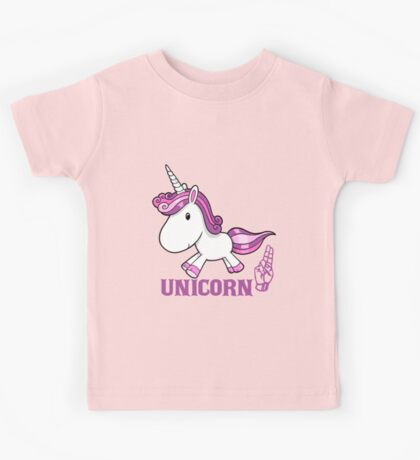 U is for Unicorn -  ASL Kids Tee