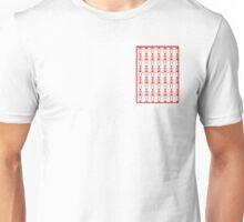 Red skeletons Unisex T-Shirt