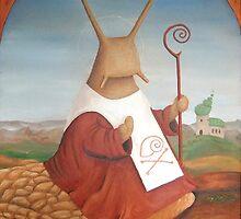 holy snail! St. Schneckbertius by schneck