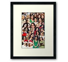 tinamy collage 2.0 Framed Print