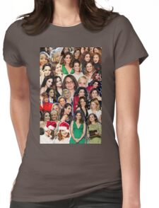 tinamy collage 2.0 Womens Fitted T-Shirt