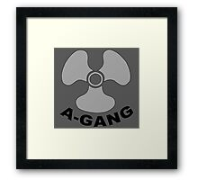A-GANG, United States Military, Submarine Service, Full Size Version Framed Print