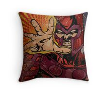Magneto Throw Pillow