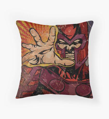 Magneto Throw Pillow