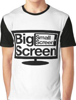 Big Screen Small Screen Graphic T-Shirt