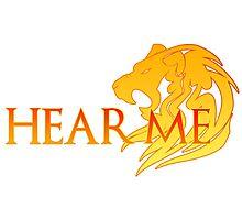 Hear Me! Photographic Print