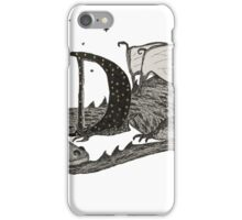 D is for Dragon iPhone Case/Skin