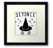 Seyonce Framed Print