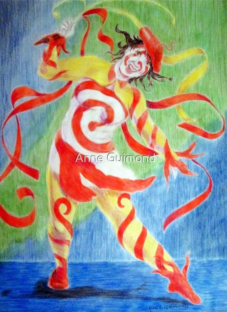 La Clownesse by Anne Guimond