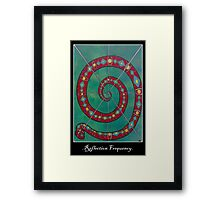 Cycle of Creation and Destruction Framed Print