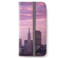 San Francisco Skyline at Dusk iPhone Wallet/Case/Skin