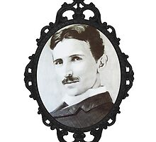 NikolaTesla Framed by tarafly