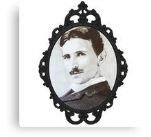 NikolaTesla Framed Canvas Print