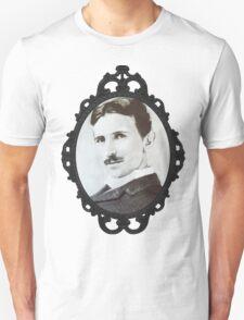 NikolaTesla Framed Unisex T-Shirt