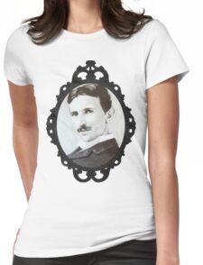 NikolaTesla Framed Womens Fitted T-Shirt