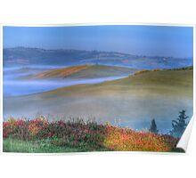 DAWN AT TUSCANY- Sea Of Fog Poster