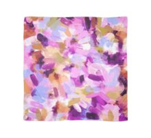 Lila Abstract Brushstrokes Scarf