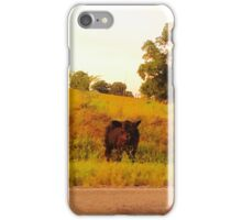 Cow On The Loose iPhone Case/Skin