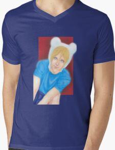 Finn the Human Mens V-Neck T-Shirt