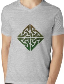 KNOT OF IONA Mens V-Neck T-Shirt