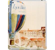Mongolfière Le Lys Bleu iPad Case/Skin