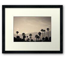 Santa Barbara I Toned Framed Print