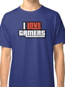 I Love Gamers Classic T-Shirt