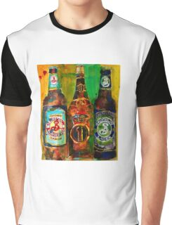 Brooklyn Beer Lager, Summer - Men Cave Graphic T-Shirt