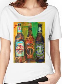 Brooklyn Beer Lager, Summer - Men Cave Women's Relaxed Fit T-Shirt
