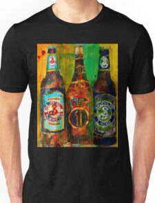 Brooklyn Beer Lager, Summer - Men Cave Unisex T-Shirt