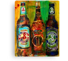 Brooklyn Beer Lager, Summer - Men Cave Canvas Print