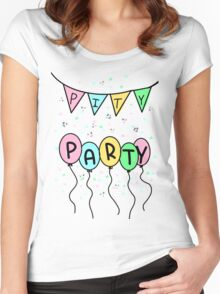Pity Party- Melanie Martinez Women's Fitted Scoop T-Shirt