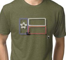 Neon Texas Sign Tri-blend T-Shirt