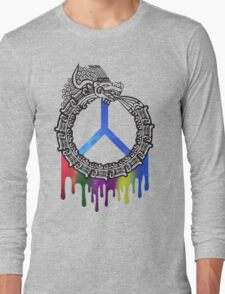 Serpent God of Peace Long Sleeve T-Shirt