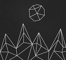 Geometric Mountains #1 by brainiac