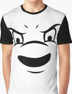 Ghostbusters - Stay Puft Marshmallow Man Face Graphic T-Shirt
