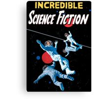 Incredible Science Fiction Canvas Print