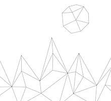 Geometric Mountains #2 by brainiac
