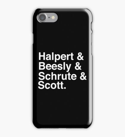 the office - names iPhone Case/Skin