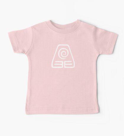 Earthbending Symbol (white) Baby Tee