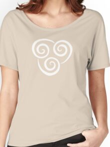 Airbending Symbol (white) Women's Relaxed Fit T-Shirt