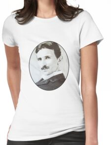 NikolaTesla Womens Fitted T-Shirt