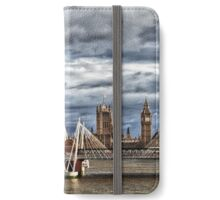 View from London Bridge in Colour iPhone Wallet/Case/Skin
